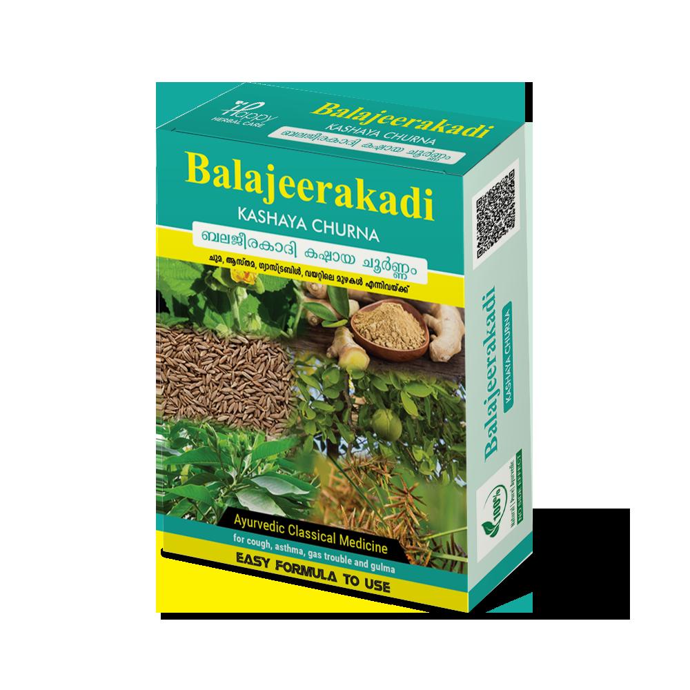 Balajeerakadi Kashaya Churna
