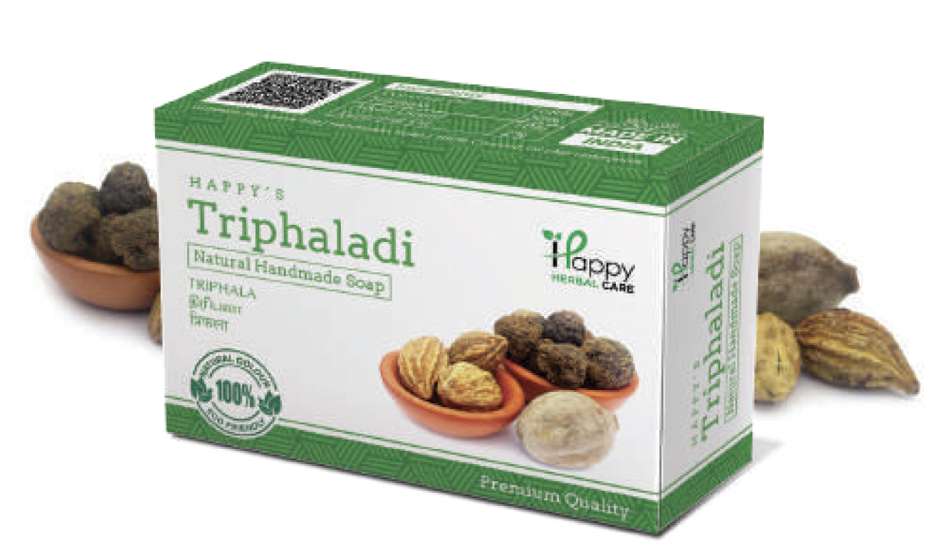 Triphaladi soap - herbal handmade soap from happy herbal care palakkad