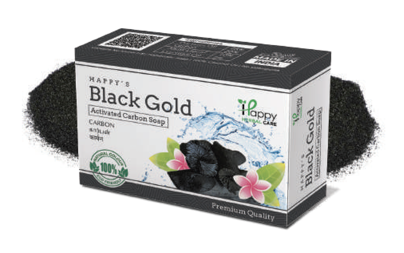 activated carbon soap